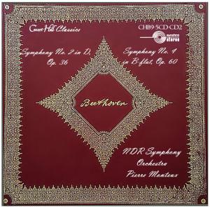 beethoven: symphonies no. 2 & 4 - ndr symphony orchestra, hamburg/pierre monteux