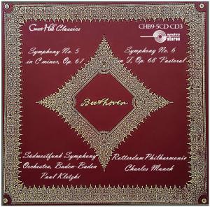beethoven: symphonies no. 5 & 6 - paul kletzki/charles munch