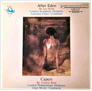 hoiby: after eden ballet suite; rieti: capers ballet music