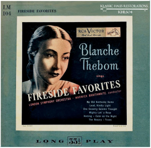 fireside favorites - blanche thebom, mezzo-soprano