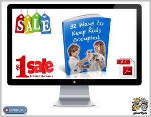 32 ways to keep the kids occupied