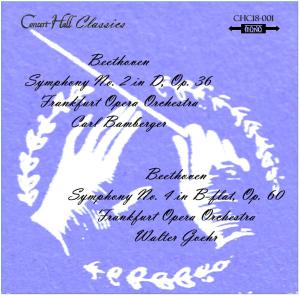 beethoven: symphonies no. 2 & 4 -frankfurt opera orchestra - bamburger/goehr