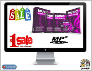 25 royalty free music loops pack 3