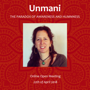 online open meeting - the paradox of awareness and humanness