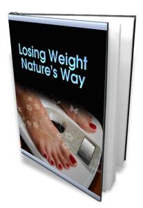 losing weight natures way