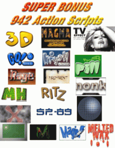942 Photoshop Actions Package | Photos and Images | Digital Art