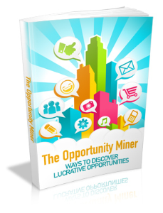 the opportunity miner ebook