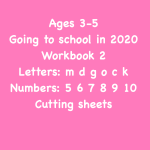 level 1 school readiness workbook 2 ( 32 pages)