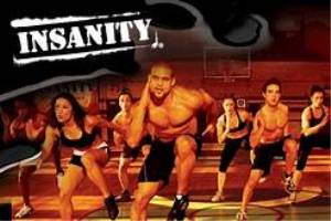 insanity-the insane workout and fitness programme, hiit, high intensity, interval training, home workout, weight loss (as seen on high street tv)