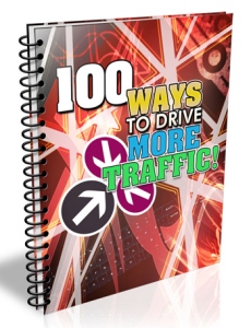 100 ways to drive more traffic