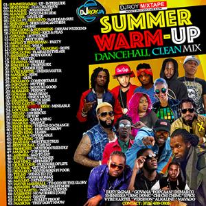 dj roy summer warm up dancehall clean mix