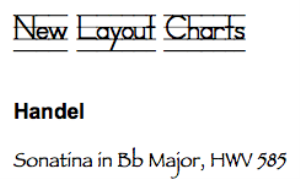 handel: sonatina in bb major