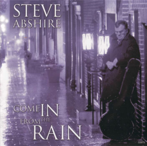 Patuxent CD-073 Steve Abshire - Come in from the Rain | Music | Jazz