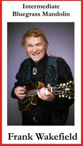 patuxent dvd-119 frank wakefield - intermediate bluegrass mandolin