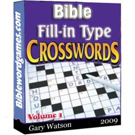 Bible Fillin Type Crossword Puzzles Vol.1 | eBooks | Religion and Spirituality