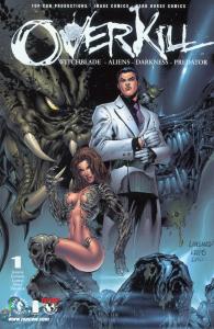 overkill #1 witchblade - aliens - the darkness - predator