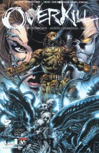overkill #2 witchblade - aliens - the darkness - predator