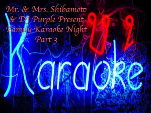 mr. & mrs. shibamoto family karaoke night part 3