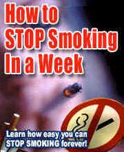 How to Stop Smoking in a Week | eBooks | Health