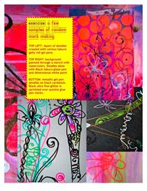 creativity UNLEASHED lesson 4 doodles and mark making | Other Files | Arts and Crafts