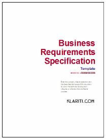 business requirement specification document template - business requirements template software software templates
