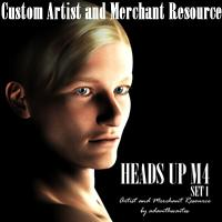 Heads Up M4 Set 1 Artist and Merchant Resource | Software | Design