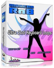 Modern R'n'B: Ultra Cool Keyboard Loops(WAV/AIFF/Apple Loops/REX2/Midi | Music | Soundbanks