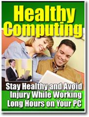 Healthy Computing - avoiding health problems | eBooks | Computers