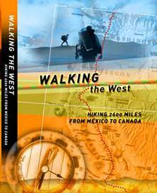 download walking the west. hiking 2600 miles from mexico to canada. video download (665mb, one hour download)