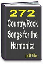 272 Country-Rock Songs for the Harmonica | eBooks | Sheet Music