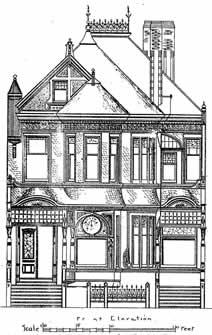 40 San Francisco Painted Ladies Original House Plans