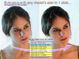 Mols Magic Actions - Smooth Skin | Software | Add-Ons and Plug-ins