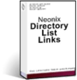 Neonix Directory List Links - Dreamweaver Extension - Macintosh
