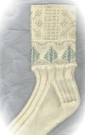 Beaded Winter Wonderland Socks knitting pattern - PDF | Other Files | Arts and Crafts