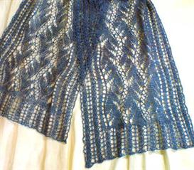Lead or Follow Lace Scarf  knitting pattern - PDF | Other Files | Arts and Crafts