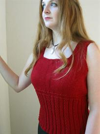 Scarlet Woman Tank Knitting Pattern | Other Files | Patterns and Templates