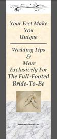 wedding tips & more exclusively for the full-footed bride
