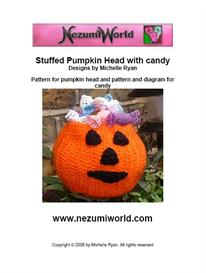 Crocheted Pumpkin Head with Crocheted Candy | eBooks | Arts and Crafts