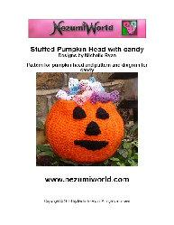 Crocheted Pumpkin Head with Crocheted Sweets | eBooks | Arts and Crafts
