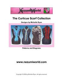 Curlicue Scarf Collection - USA Crochet Terms | eBooks | Arts and Crafts