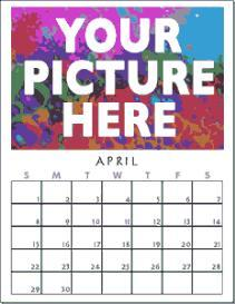 2010 grid CALENDAR blank, 12 month, US letter size, printable PDF | Other Files | Patterns and Templates