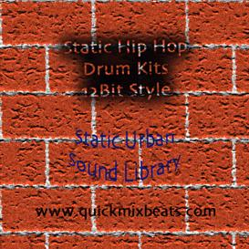 hip hop 12bit style drum kits (multi format)