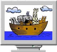 Noah's Ark Screen Saver
