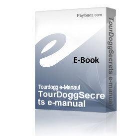 TourDoggSecrets e-manual | eBooks | Entertainment
