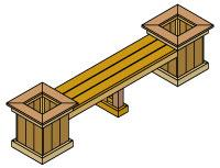 Planter Bench Plan | Other Files | Arts and Crafts