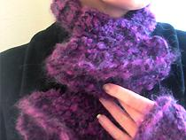 Ruffled Scarflet and Mitts set | eBooks | Arts and Crafts