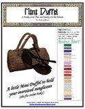 Mini Duffel Crochet Pattern | Other Files | Arts and Crafts