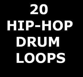 20 Drum Loops - For Beatmakers - HipHop - 95BPM | Music | Soundbanks