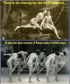 100+ Saucy Captioned Vintage Postcards - Volume 3 | eBooks | Humor