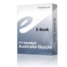 Australia Guide | eBooks | Travel